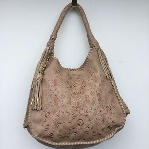 Dulce Vita Fabric Embodied Hobo Shoulder Bag